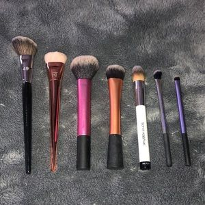 MIXED makeup brush set (Real Techniques, Sephora)